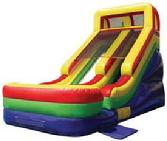 Solon, Ohio inflatable slide rental party